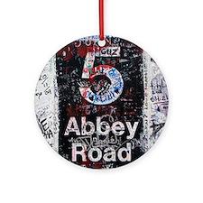 Abbey Road Round Ornament