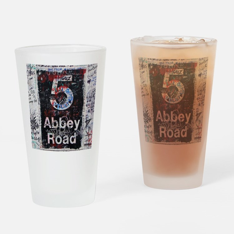 Abbey Road Drinking Glass