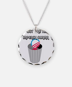 IMPEACH OBAMA Necklace