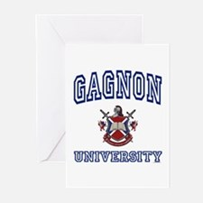 GAGNON University Greeting Cards (Pk of 10)