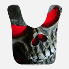 Red Eyed Skull Bib