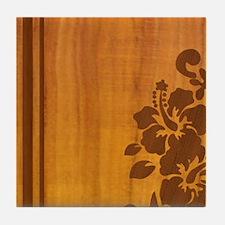 koahibiscuspadcase Tile Coaster