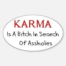 Karma Is A Bitch Decal