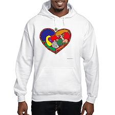 Healthy Heart 10x10_all Hoodie
