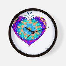 Anamalia Heart 10x10_all Wall Clock