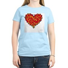 Chaos Heart 10x10_all T-Shirt