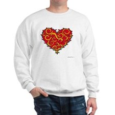 Chaos Heart 10x10_all Sweatshirt