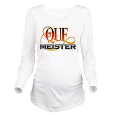 Que Meister Long Sleeve Maternity T-Shirt
