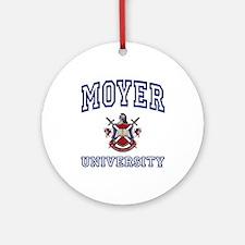 MOYER University Ornament (Round)