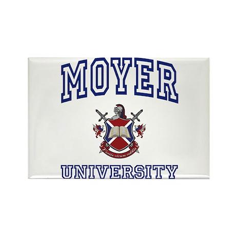 MOYER University Rectangle Magnet (100 pack)