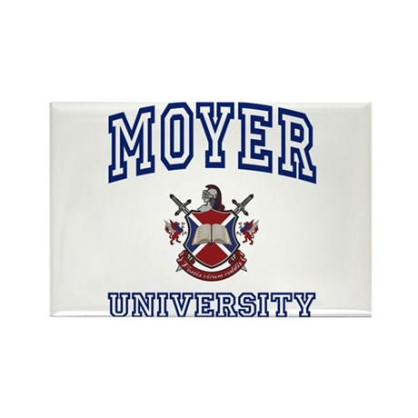 MOYER University Rectangle Magnet (10 pack)