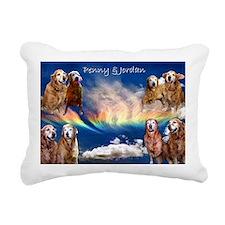 jordan penny Rectangular Canvas Pillow