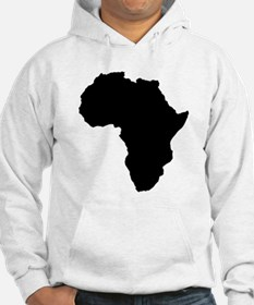 Shape map of AFRICA Jumper Hoodie