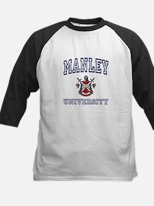 MANLEY University Kids Baseball Jersey