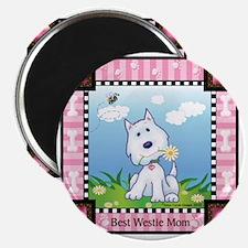Best Westie Mom Magnet