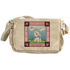 Best Westie Mom Messenger Bag