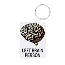 Left Brain Keychains