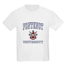 FONTENOT University Kids T-Shirt