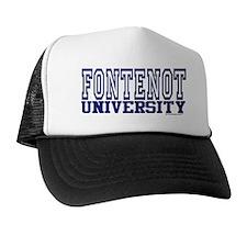 FONTENOT University Trucker Hat
