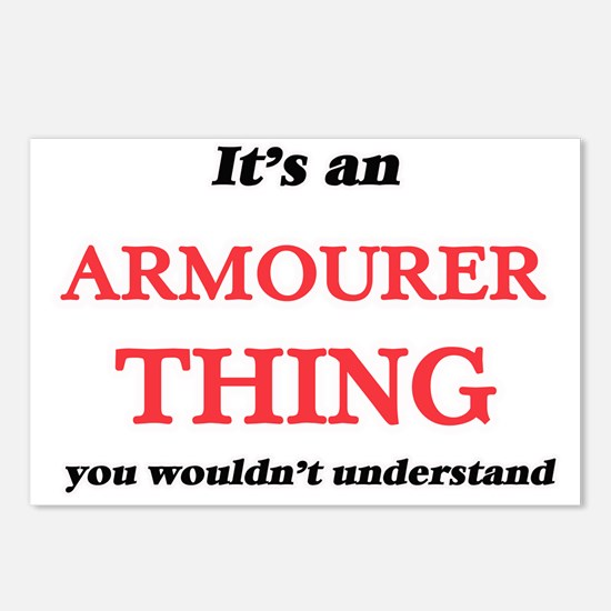 It's and Armourer thi Postcards (Package of 8)