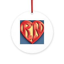 super-rn3-CRD Round Ornament