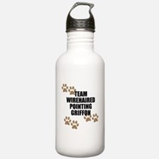 Team Wirehaired Pointing Griffon Water Bottle