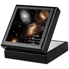 Pascal-galaxies Keepsake Box