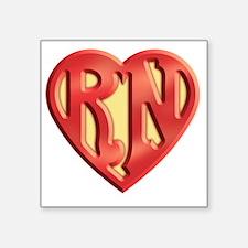 "super-rn3-T Square Sticker 3"" x 3"""