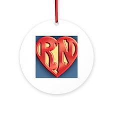super-rn3-OV Round Ornament