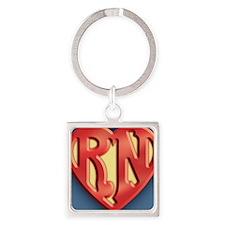 super-rn3-OV Square Keychain