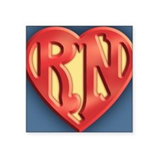"""super-rn3-OV Square Sticker 3"""" x 3"""""""