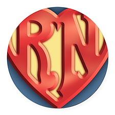 super-rn3-BUT Round Car Magnet