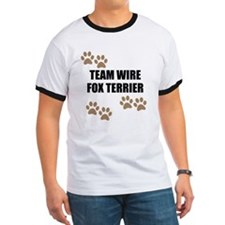 Team Wire Fox Terrier T-Shirt