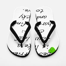 Irish St Flip Flops