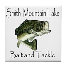 LargemouthBass Tile Coaster
