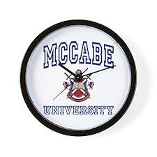 MCCABE University Wall Clock