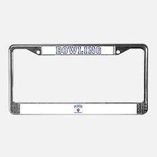 BOWLING University License Plate Frame