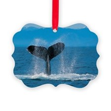 Humpback Whale Ornament