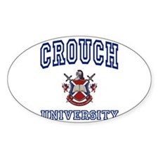 CROUCH University Oval Decal