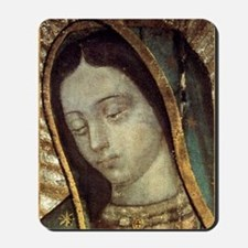 Our Lady of Guadalupe - close up Mousepad