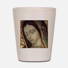 Our Lady of Guadalupe - close up Shot Glass