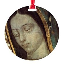 Our Lady of Guadalupe - close up Ornament
