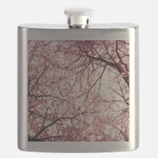 cherry blossoms full Flask