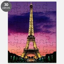 eiffel tower night lights Puzzle