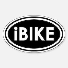 Ibike2TS Sticker (Oval)