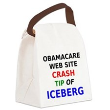 Obamacare web site crash tip of iceberg Canvas Lun