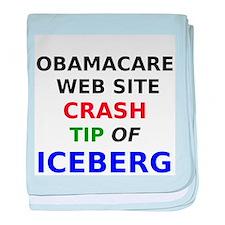 Obamacare web site crash tip of iceberg baby blank
