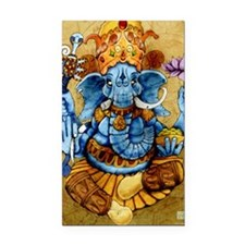 ganesh11x17 posters Rectangle Car Magnet