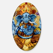 ganesh11x17 posters Sticker (Oval)
