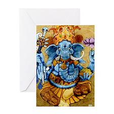 ganesh11x17 posters Greeting Card
